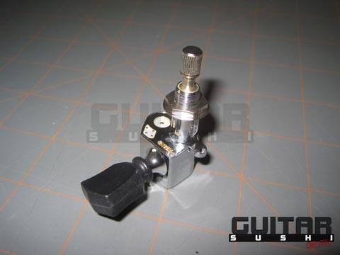 Gibson Tronical Dark Fire Dusk Tiger Robot Les Paul (Gen II) Bass Side Tuners Tuning Machine Power Heads Autotune Self-Tuning Electric Guitar [GUITAR SUSHI] Maintaining a wide-stance since 2006 | www.guitarsushi.com